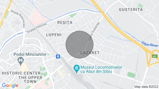 Daniel's Central Apartments Map