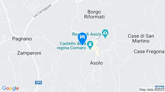 Hotel Villa Cipriani Map