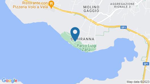 Hotel Ristorante Vecchia Riva Map