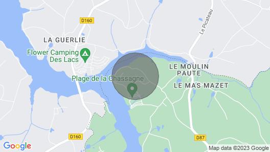 La Chassagne - Videix Map
