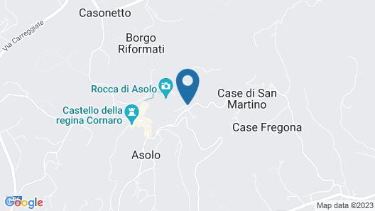 Villa Il Galero: Stay in a Historic Villa for Your Holidays in Asolo Map