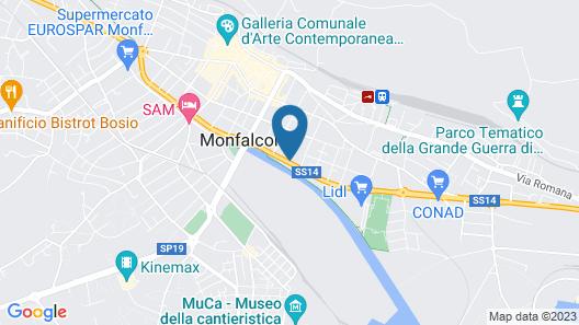 Villa Fiorita Map