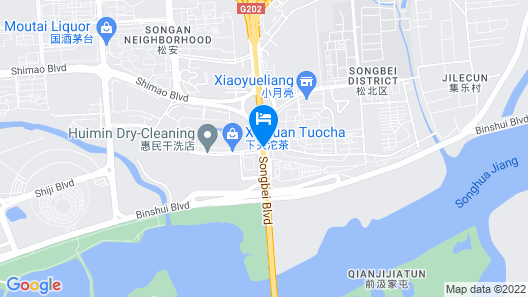 Shangri-La Songbei, Harbin Map