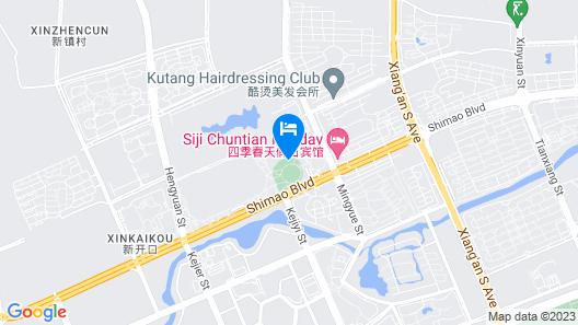 Mercure Harbin Songbei Map