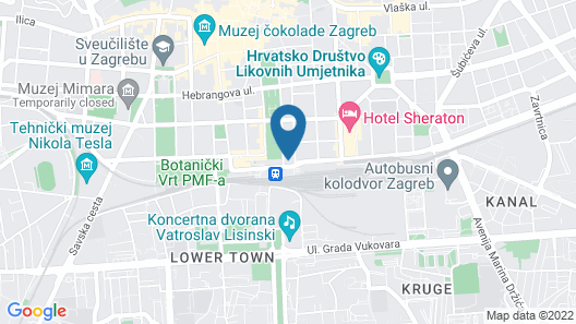 Hotel Central Map