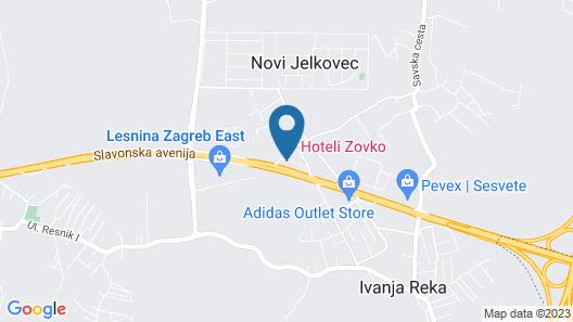 Hotel Zovko Map