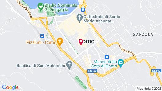 Residence Diaz Map