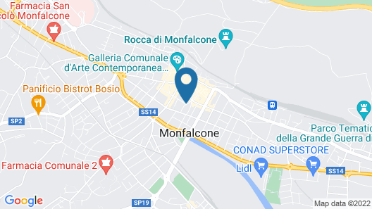 Hotel Excelsior Map
