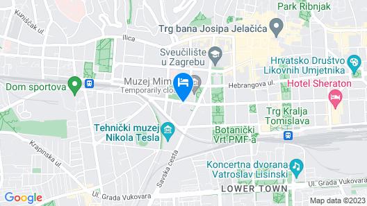 The Westin Zagreb Map
