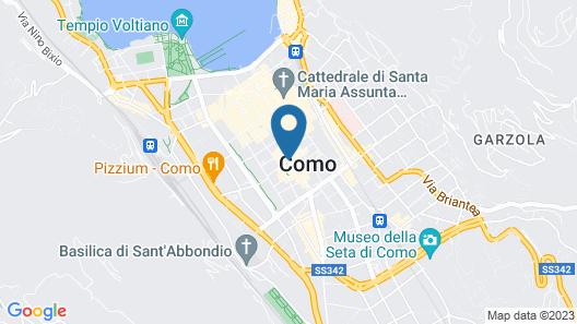 Palazzo Albricci Peregrini Map