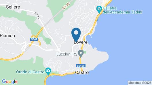 IseoLakeRental - Appartamento Gemma Map