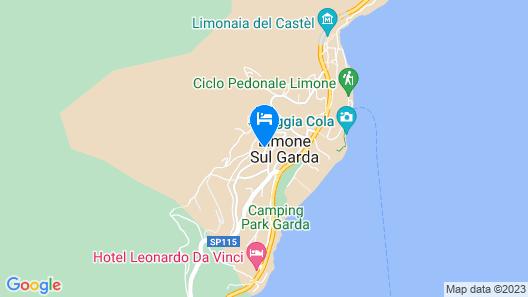 Hotel Cristina Map