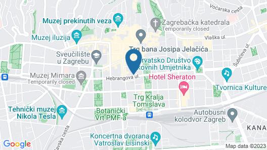 Markiz Luxury Apartments Map