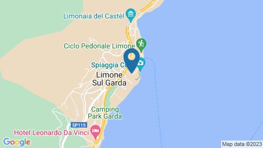 Hotel Sogno del Benaco Map