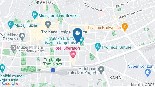 Le Premier Boutique Hotel Map