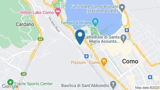 Hotel Borgovico Map