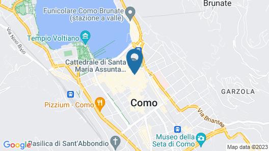 DBH Duomo Boutique Hotel Lake Como Map
