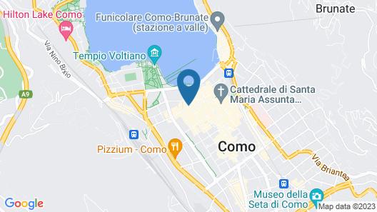Posta Design Hotel Map