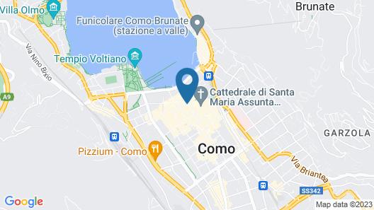 Albergo Ristorante Tre Re Map