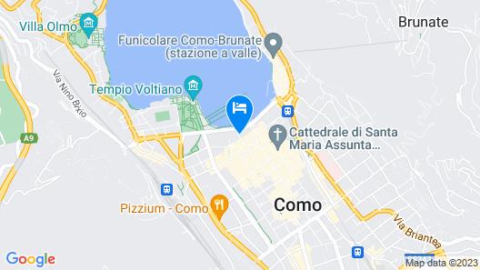 Bello! Lake Como Suites Map