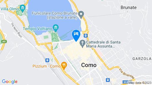Hotel Barchetta Excelsior Map