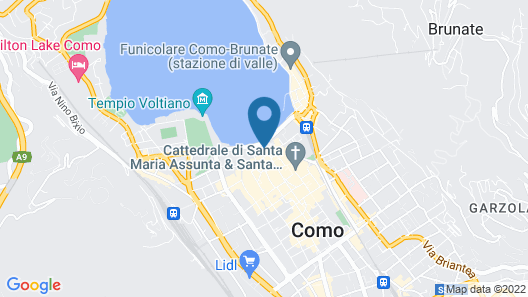 Hotel Metropole Suisse Map
