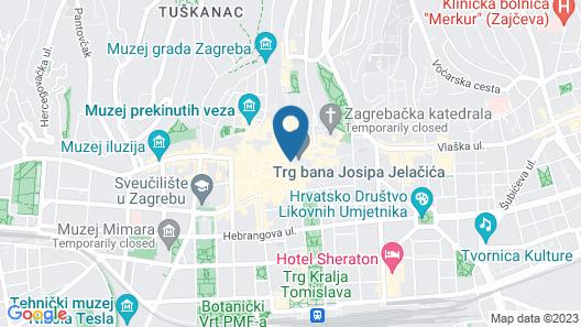 Hotel Dubrovnik Map
