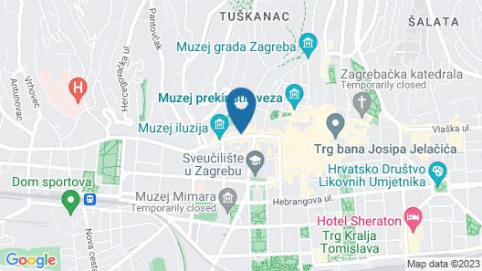 Swanky Mint hostel Map