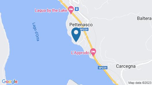 Cascina Tumas Orta Lake Map