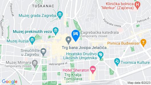 Hostel Centar Map