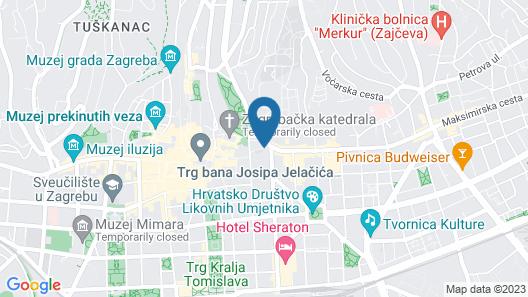 Hostel Bureau Map