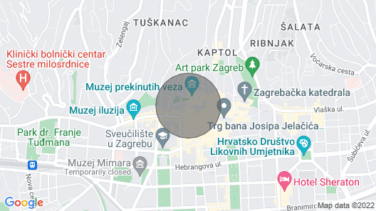 TOP Apartman: Minutes away from the heart of the town. Map