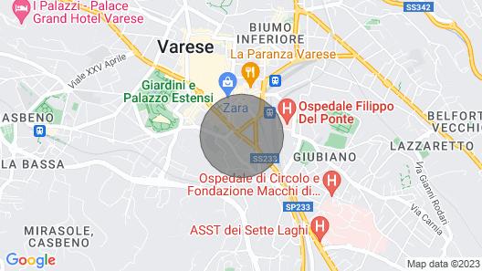 Magenta Apartment . Map