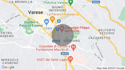 Biroldi Apartment .. Map