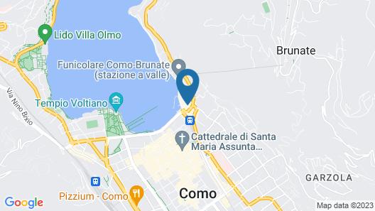 In Riva al Lago Map