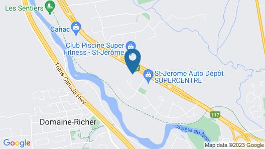 Motel La Cheminee Map