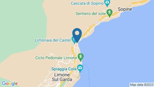 Hotel Monte Baldo Map