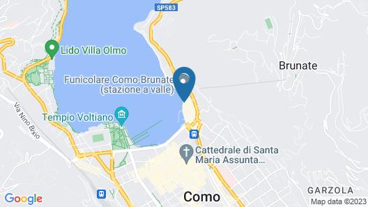 Suites&Atelier Lake Como Map