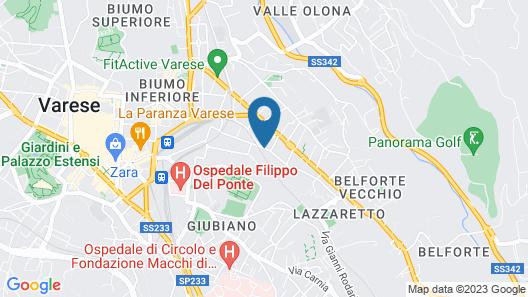 Hotel Stelvio Map