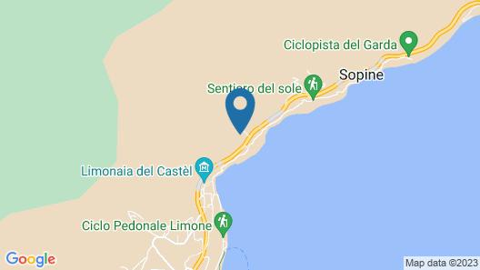 Relax Hotel La Gardenia & Villa Oleandra Map