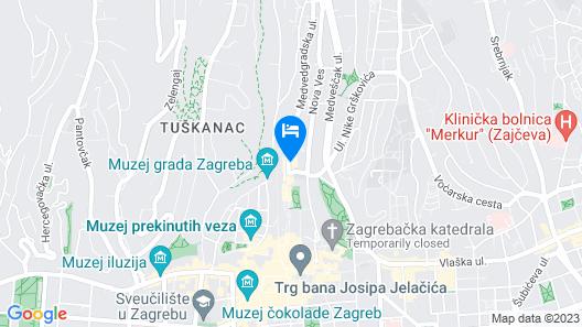Hotel Academia Map
