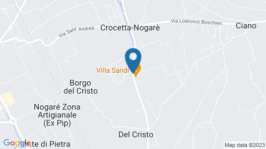 Agriturismo La Meridiana Map
