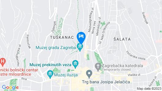 Peacock Boutique Apartments Map
