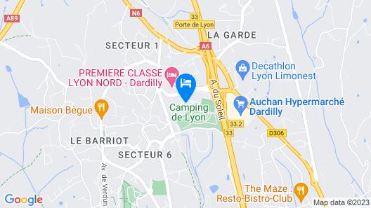 ibis Lyon Nord Map