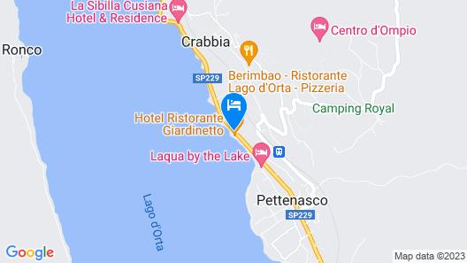 Hotel Il Giardinetto Map