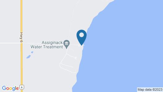 Sunsite Estates Waterfront Map