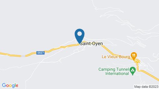 Mont Velan Map