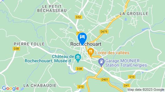 Hotel De France Map