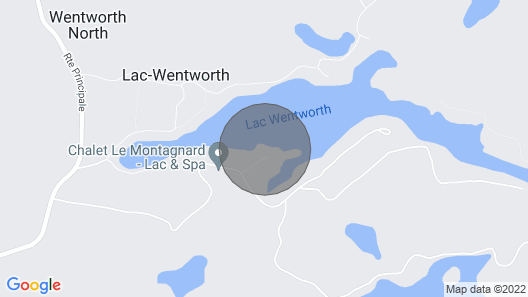 4bed/2bath/jacuzzi Family Lakeside Cottage Map