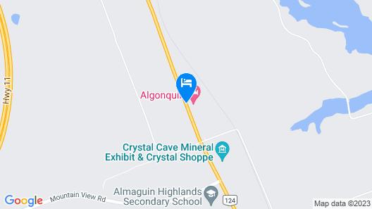 Algonquin Motel Map